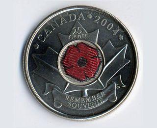 Poppy quarter