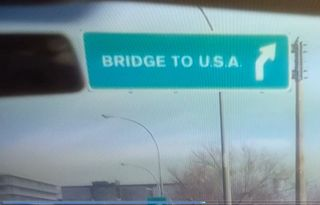 Mcds bridge to usa
