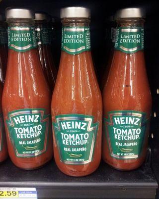 Real jalapeno ketchup