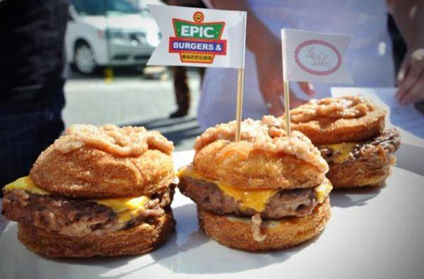 Cronut burger_0