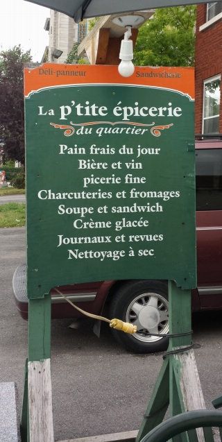 Quebec sandwich