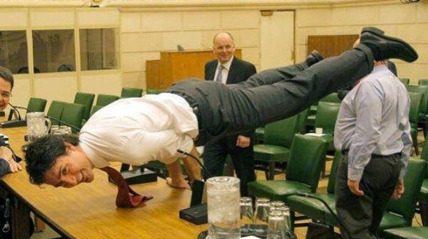 Trudeau yoga