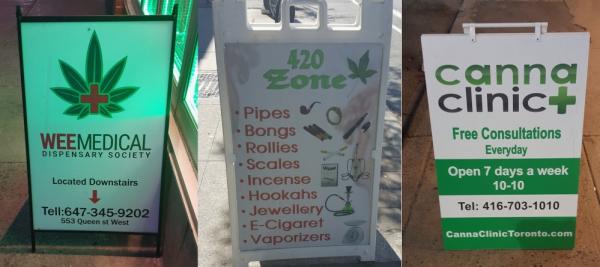Toronto weed