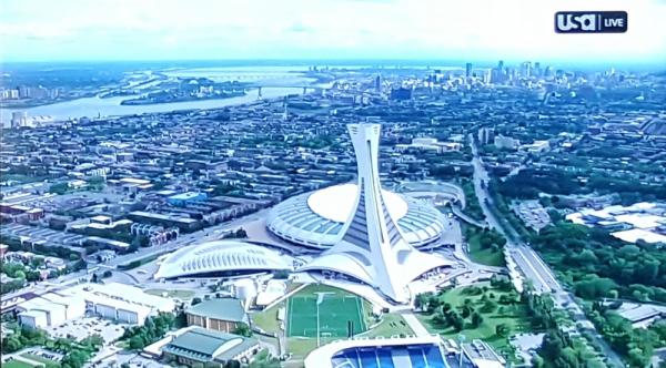 Montreal skyline usa