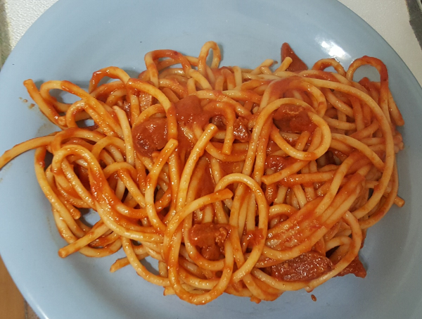 Amatriciana homemade