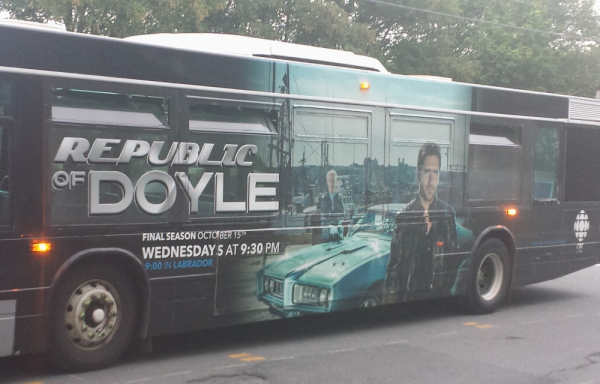 Republic of doyle bus