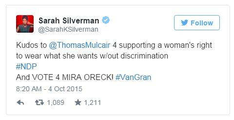 Silverman endorse