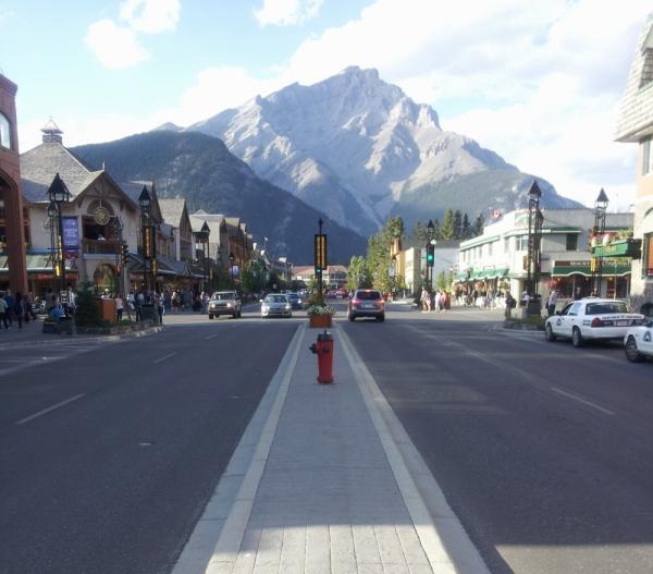 Banff street