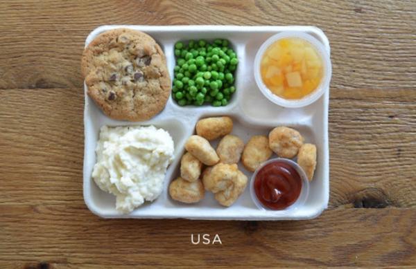 Usa lunch