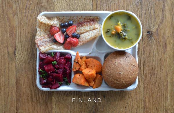 Finland lunch