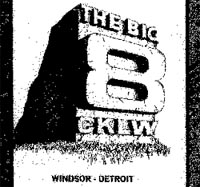 The Big 8 CKLW logo