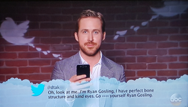 Gosling mean tweet