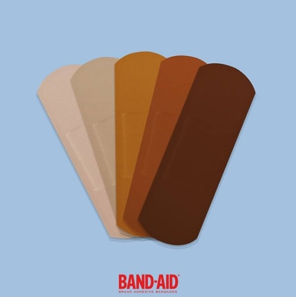 Band-aids-colour