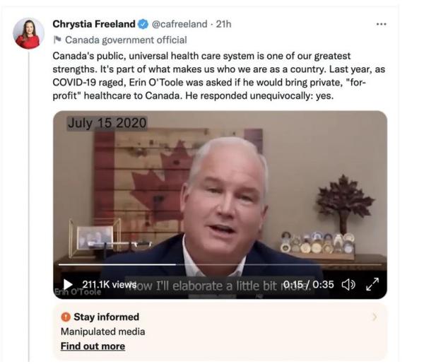 Manipulated-media