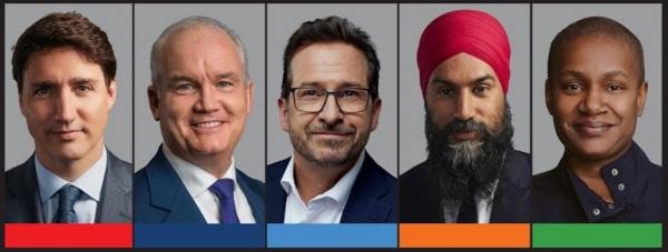 2021 federal leaders