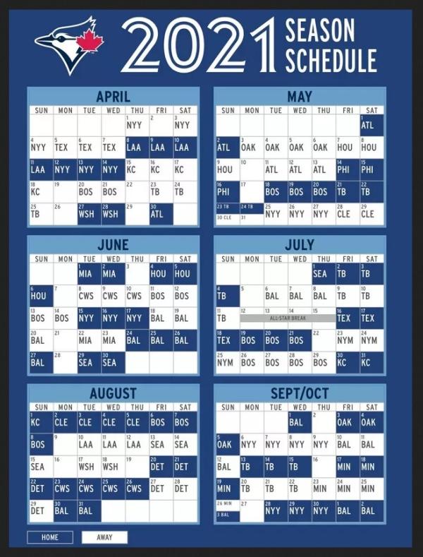 Bluejays-2021-schedule