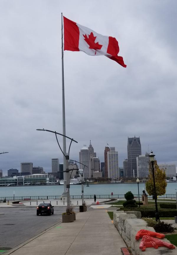 Canada-flag-windsor